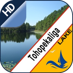 Lake Tohopekaliga offline nautical map for fishers