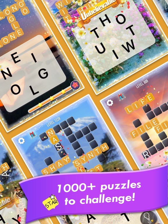 Word Crossy - A crossword game на iPad