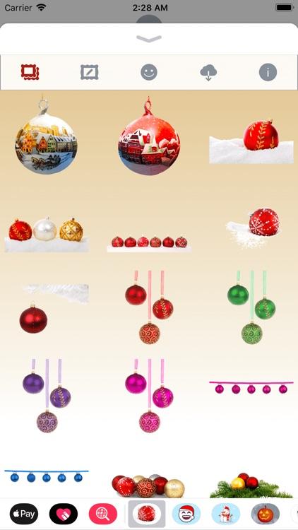 Christmas Ornaments • Stickers screenshot-4