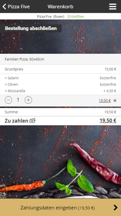 Pizza FiveScreenshot von 2