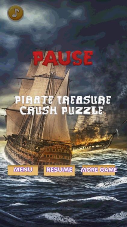 Pirate Treasure Crush Puzzle screenshot-3