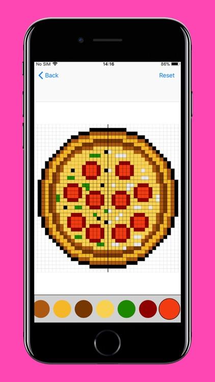 Pixel Art Puzzles Coloring screenshot-8