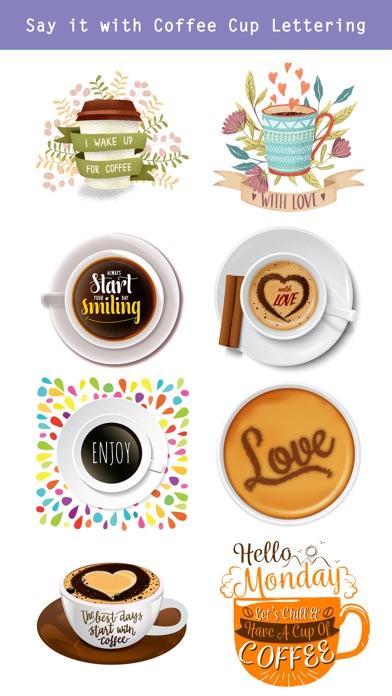 Say it with Coffee Art screenshot 3