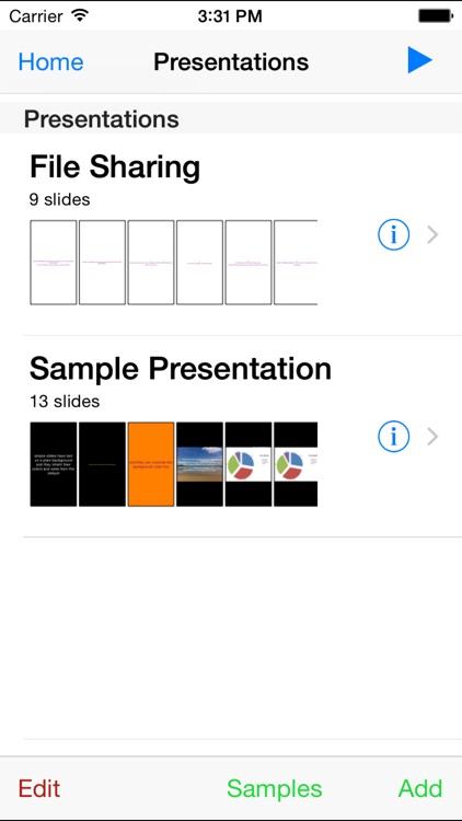 Simple Presentations screenshot-4
