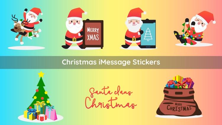 Christmas Santa Claus Emojis