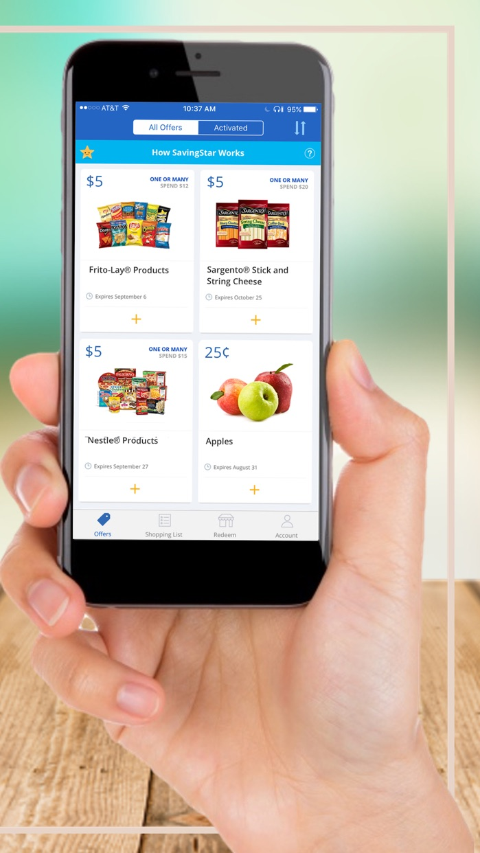 SavingStar - Grocery Savings Screenshot