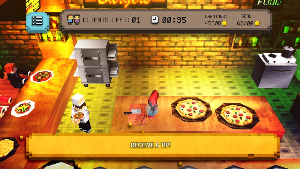 Blocky Pizza: Cooking Sim hack tool