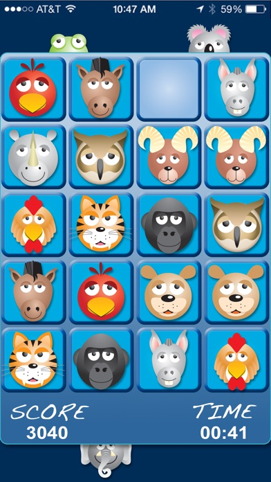 AniMatch: Animal Matching Game Screenshot on iOS