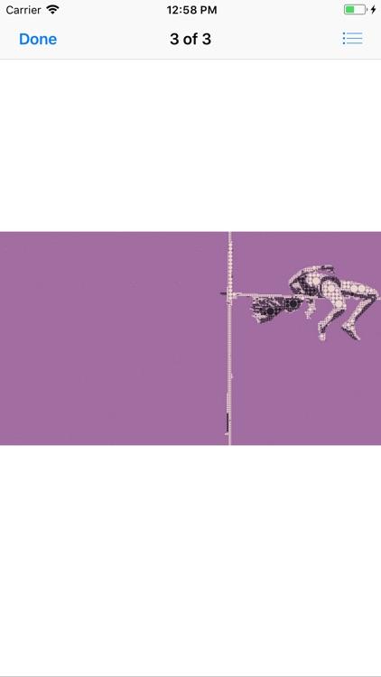 Athlete Pictogram Sticker Pack screenshot-5