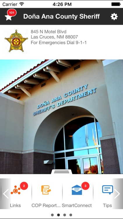 Dona Ana County Sheriff by LogicTree IT Solutions