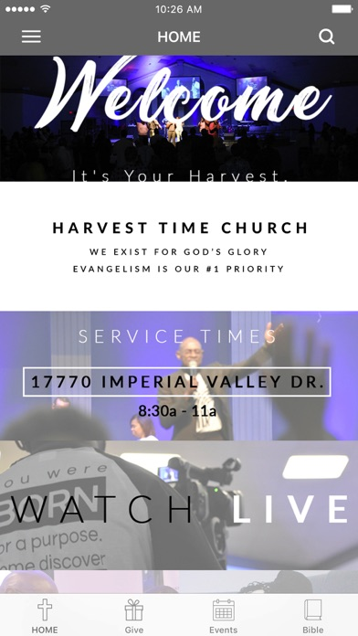 Harvest Time Church screenshot 1