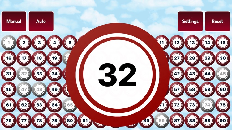 90 Ball Bingo Caller screenshot-0