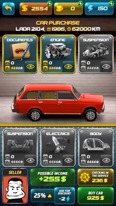 Racer Career Simulator screenshot 1