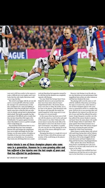 Sports Plus (magazine) screenshot-3