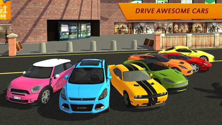 Shopping Mall Car Driving screenshot-4