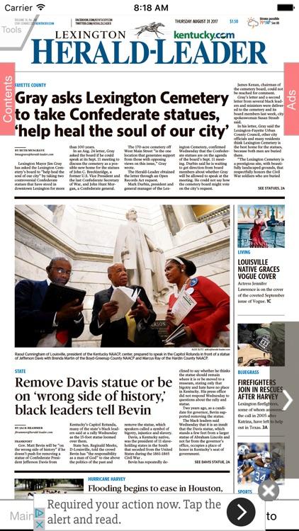Lexington Herald-Leader eEdition