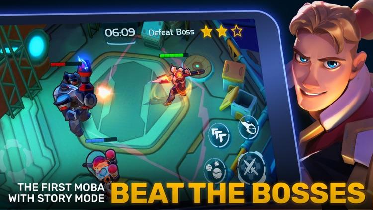 Planet of Heroes - A MOBA Game screenshot-3