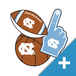UNC PLUS Selfie Stickers