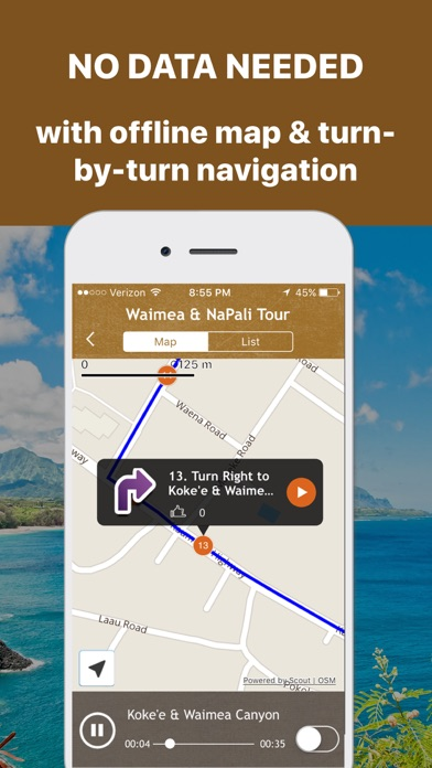 Kauai Driving Tour GPS Guide