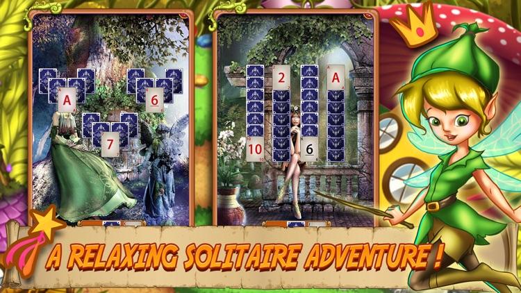 Solitaire Elven Wonderland screenshot-5