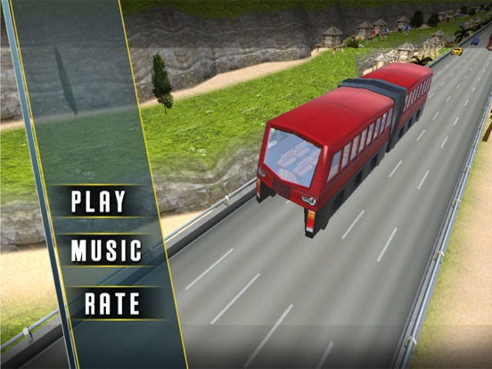 Extreme City Elevated Bus 3D на iPad