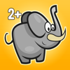 Pekbok - roligt djur barnspel