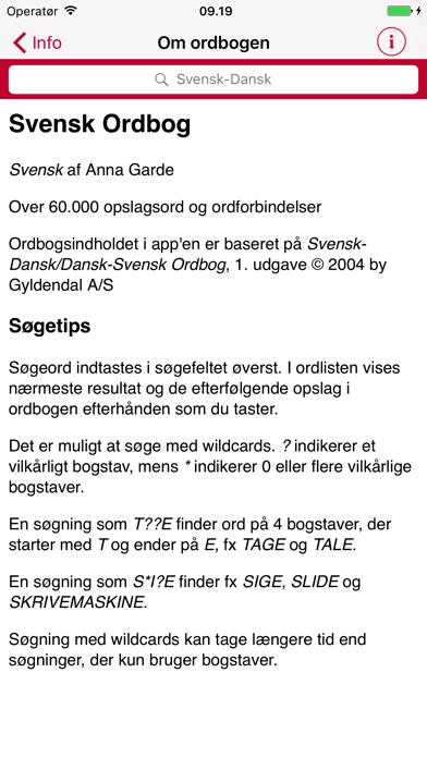 Swedish Danish Dictionary - Gyldendalのおすすめ画像5
