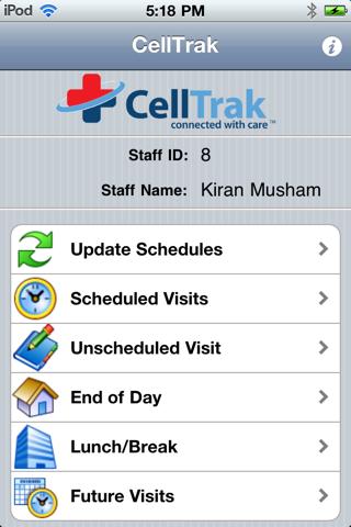 CellTrak 1.7 - náhled