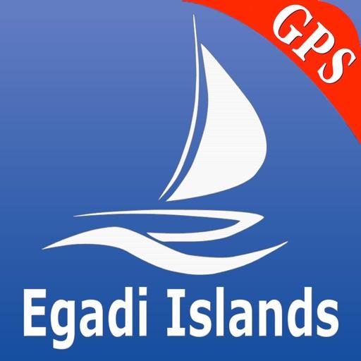 Isole Egadi GPS Carta Nautica