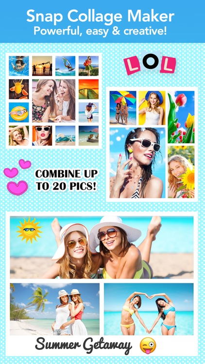 Photo Collage Pic Layout Maker
