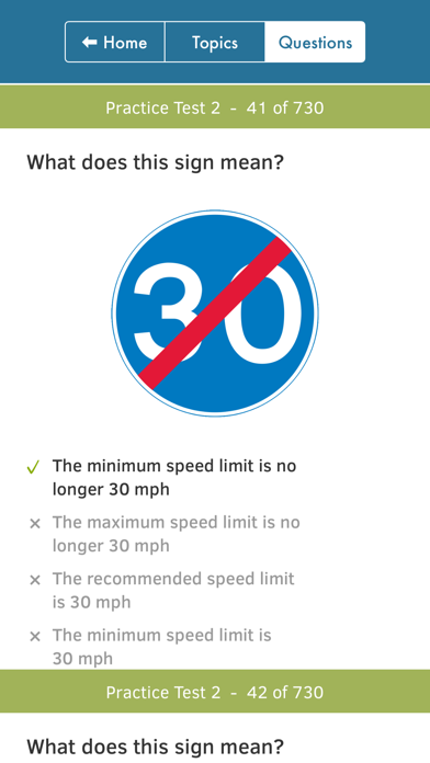 UK Driving Theory Test 2018 screenshot four