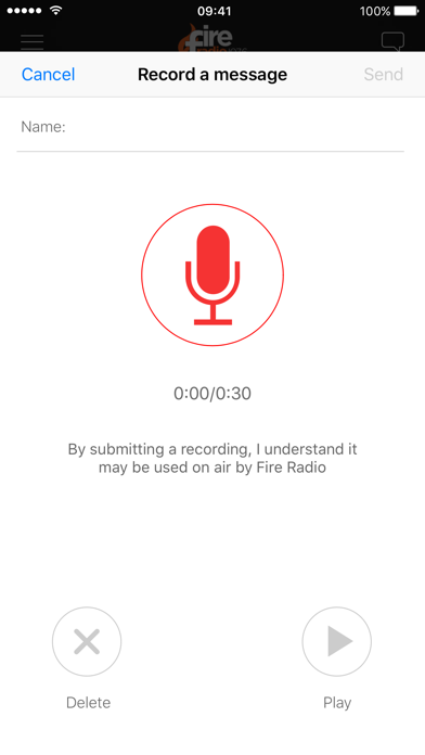 Fire Radio screenshot four