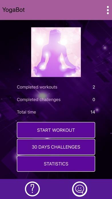 Yoga for beginners - YogaBot screenshot 4