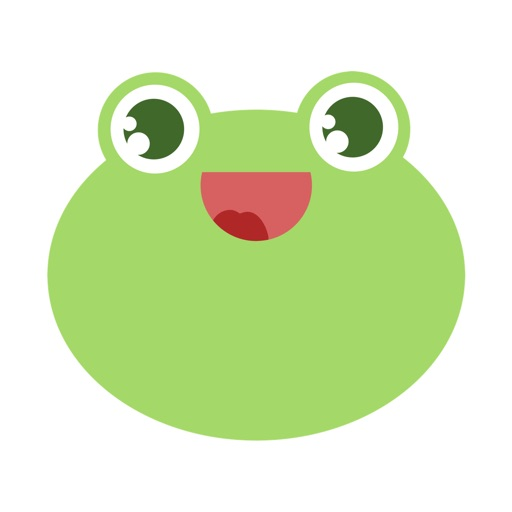 Frog: Smiley Emoji Stickers