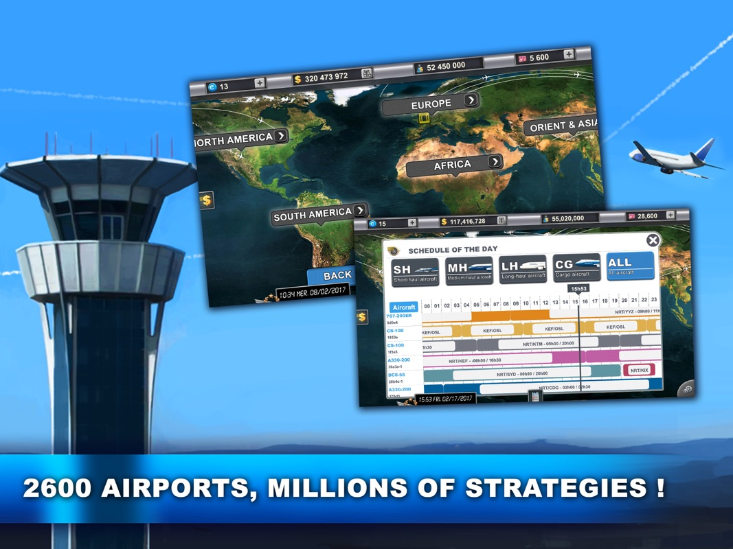 Airlines Manager : Tycoon 2018 - Online Game Hack and Cheat