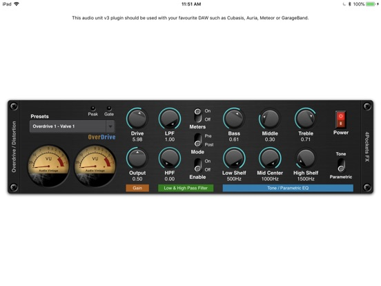 Overdrive AUv3 Plugin screenshot 5
