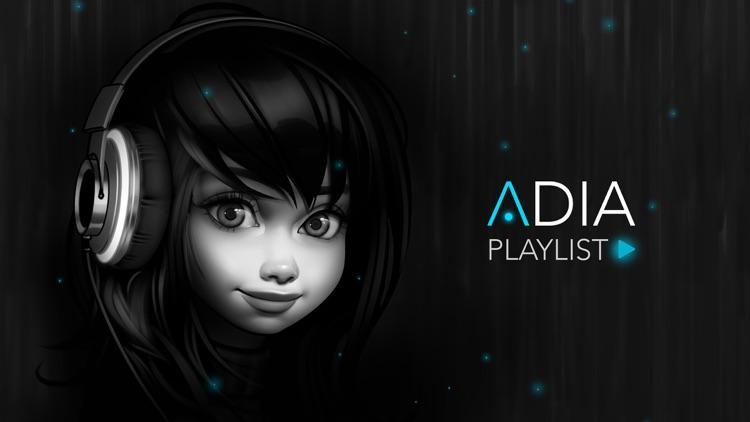 Adia: playlist music game screenshot-0
