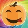 Emotional Pumpkin Stickers
