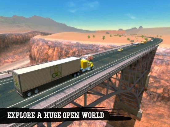 Truck Simulation 19 screenshot 11