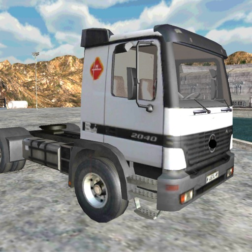 Driving Pick-Up Truck 3D