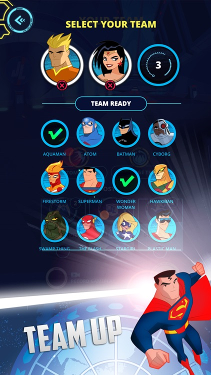 Justice League Action Run screenshot-2