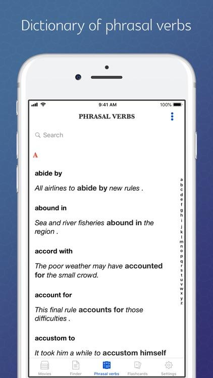 Phrasal verbs through stories screenshot-3
