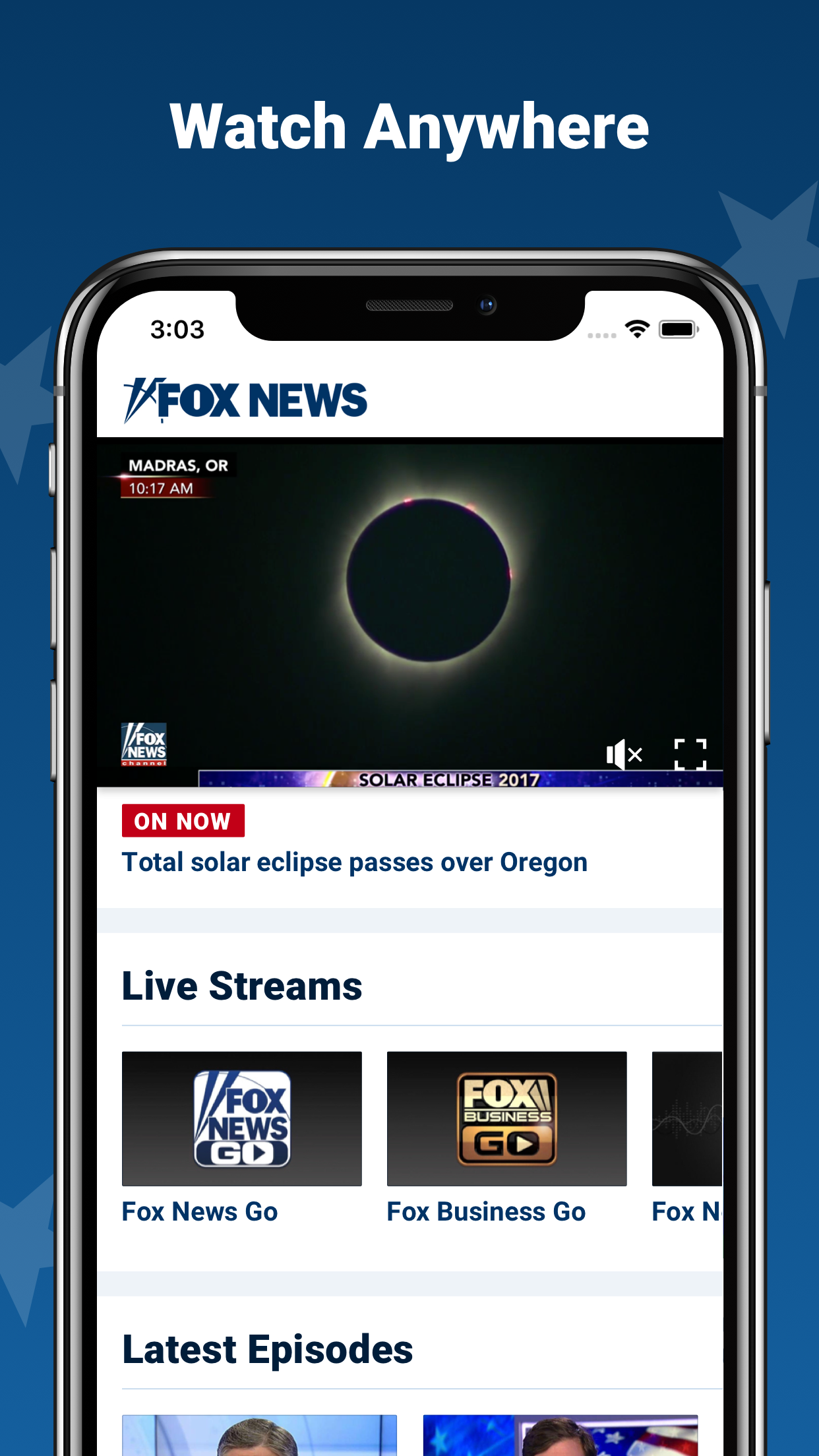Fox News: Live Breaking News Screenshot