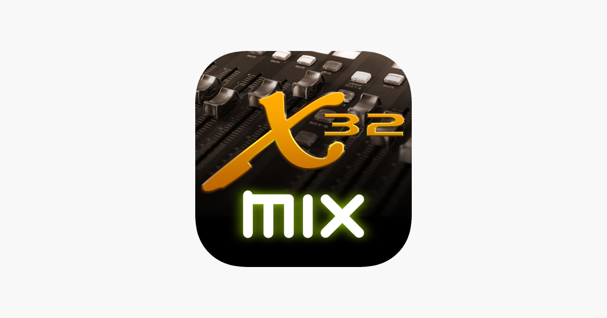 X32-Mix on the App Store