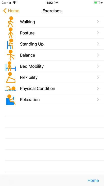 Parkinson Home Exercises screenshot-2