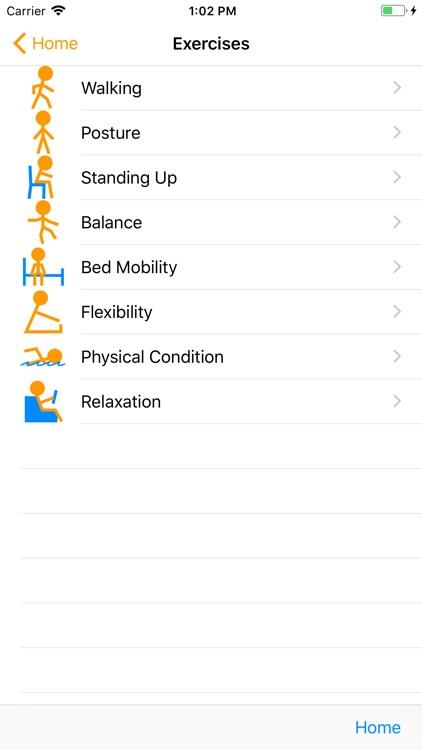 Parkinson Home Exercises