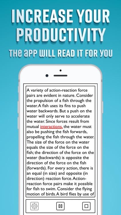 Text to Speech App