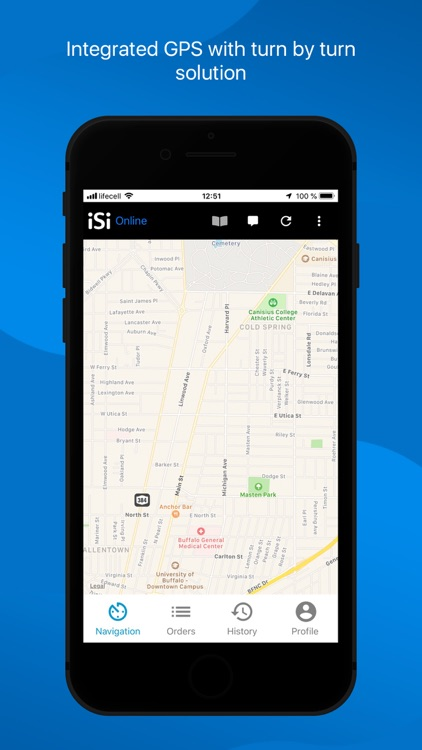 iSi Driver App