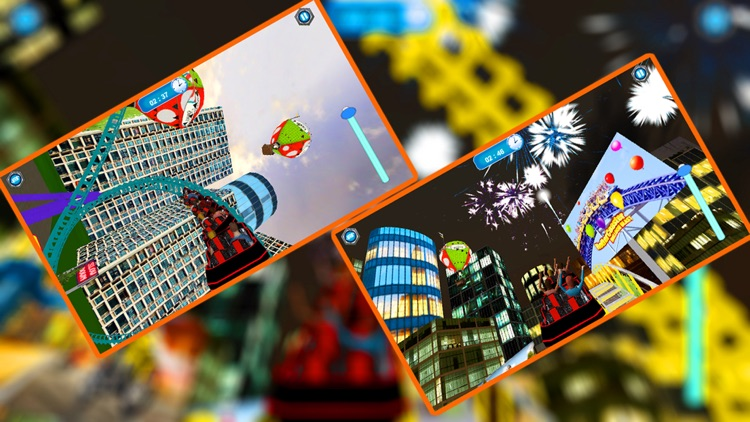 Roller Coaster Park Simulation screenshot-3