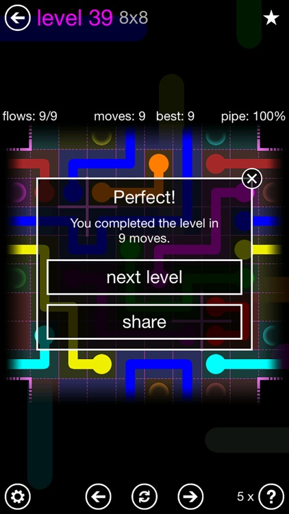 Flow Free: Warps screenshot-2
